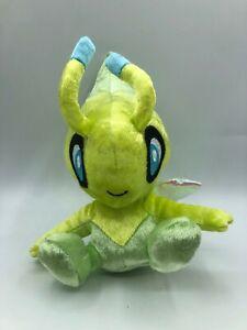 Official Tomy Pokemon Celebi 20th Anniversary Plush Stuffed Toy Animal Nintendo