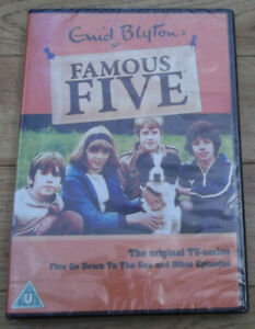 Enid Blyton FAMOUS FIVE DVD Five go Down to the Sea & Other Episodes NEW