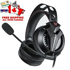 Onikuma M180 Gaming Headset**4D Sound, for PS4, X BOX, Switch, Computer, Tablets