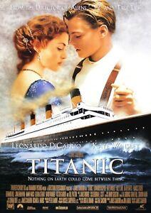 Titanic Movie Film Photo Print Poster Picture WALL ART
