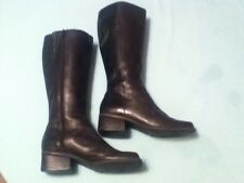 Ladies/Women's-Size 7-Westies boots-black leather-great for the rodeo