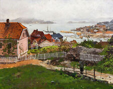 Thaulow Frits From Kragero Canvas 16 x 20    #5694
