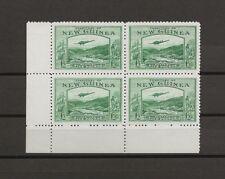 NEW GUINEA 1935 SG 204/205 MNH Corner Blocks Cat £4400 . SUPERB .