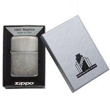 Zippo 24096 1941 Black Ice Lighter Made in USA / USA Version