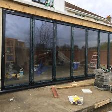 Quality Aluminium Bi-Folding Door ALUK SMART SCHUCO Based in London Double Glazi