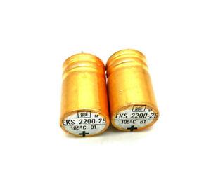 10 Radial Elko Capacitors Capacitor 2200µf 6,3v ø13mm x 21mm RM 6mm