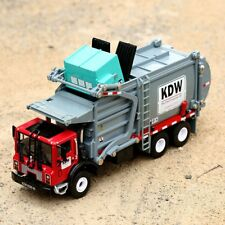 1 24 Scale Diecast Material TRANSPORTER Garbage Trucks Model Toys for KDW