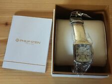 Philip Stein Women's 21-FMOP-ZAL Mother-Of-Pearl Silver Lizard Strap Watch