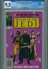 Star Wars Return Of The Jedi CGC 1 2 3 9.2 & 9.4 Luke Princess Leia Darth Vader