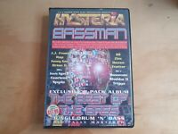 Hysteria Bassman Best of Bass 8 Cassette Tape Box Set Spuda Rap Kenny Ken