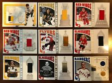 Terry O'Reilly 2004-05 ITG Franchises Complete Jersey Boston Bruins