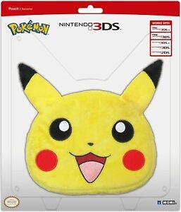 HORI Universal Pikachu Plush Pouch for Nintendo 3DS XL - NEW, box little damaged