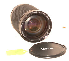 Vivitar 28-200mm AI-S Lens for Nikon MC Manual Zoom f/3.5-5.3