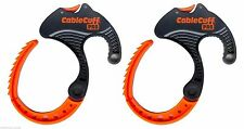 Cable Clamp - Cable Cuff PRO (2-Pack) Medium - Adjustable & Reusable, CFMP030808