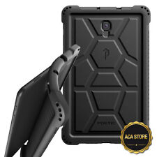 Case For Galaxy Tab A 10.5 (SM-T590/T595) Flexible Shockproof Silicone Cover BLK