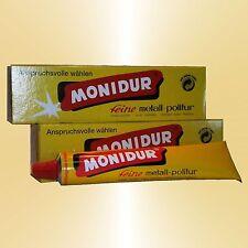 5x MONIDUR 100g Chrom Polierpaste Metallpolitur Lackpflege Chrompolitur
