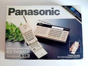 Panasonic Vintage Cordless EASA-PHONE Model KX-T4000SI in Beige New Open Box