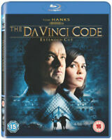 The Da Vinci Code: Extended Cut Blu-Ray (2011) Tom Hanks, Howard (DIR) cert 15