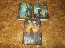 ROBIN HOBB~ COMPLETE SOLDIER'S SON TRILOGY BOOK COLLECTION~HARDCOVERS~ALL BCE