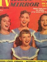 Vintage Collectible TV Radio Mirror Movie Magazine March 1957 Lennon Sisters