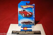 Hot Wheels - Shelby Cobra 427 S/C #7/10 - 2010 Hot Auction 165/240 1:64 Red