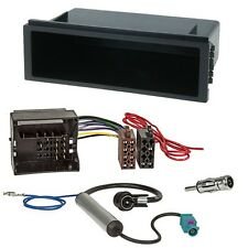 VW Polo 4 9N / 9N3 2001-2009 Radioblende Radioadapter Einbauset Rahmen Adapter