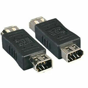 IEEE Firewire1394A 6-Pin Female to 6-Pin Female Adapter Connector