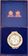 Halcyon Days Bilston & Battersea 9Th Edition Mothers Day 1983 Enamel Box Mint
