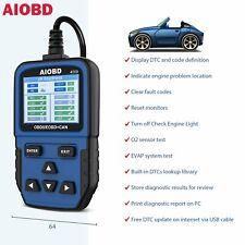 Code Reader Portable Car Diagnostic Scanner Engine False Tool OBD2 Vehicles EOBD