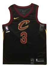Isaiah Thomas Cleveland Cavs NBA Black Nike Swingman Mens Jersey 48 Large #3 NWT