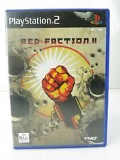 Red Faction II Playstation 2 PS2 Game With Manual PAL