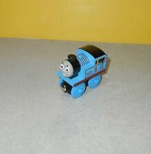Chunky Thomas The Train & Friend Wooden Railway #1 Blue Engine Magnetic