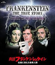Frankenstein The True Story Blu-Ray From Japan W / Suivi