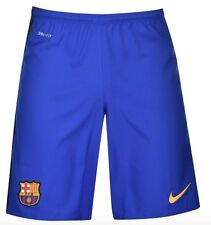 Nike FC Barcelona Auswärts Away Shorts Blau 2015 2016 alle Größen Neu