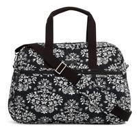 Vera Bradley Medium Traveler Carry On/Overnight Bag in Chandelier Noir  - $118