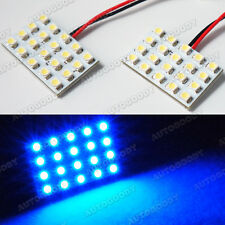 2pcs Ultra Blue LED Panel 20-SMD Dome Map Door Cargo Light Super Bright