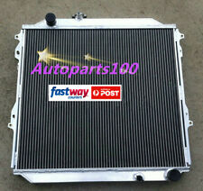 QLD Aluminum radiator for TOYOTA Hilux Surf KZN185 3.0L Diesel 1996-2002 Manual
