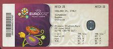 Orig.Ticket   EM POLEN / UKRAINE 2012   ITALIEN - ENGLAND // 1/4 FINALE  !! TOP