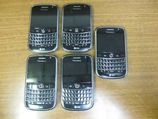 "Lot of 5 BlackBerry Bold 9000 1GB Black AT&T ""AS IS FOR PARTS"""