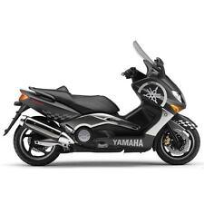 SET 10 ADESIVI ARGENTO TMAX 500 '01 / '07 KIT GRAFICA CARENA DECALS T-MAX CARENE
