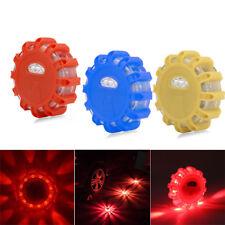 Auto Light LED Round Beacon Emergency Strobe Flashing Warning Lights Car Safety