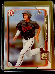 2015 1st Bowman Draft Ryan Mountcastle #80 Rookie Orioles - Free Shipping