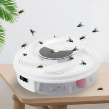 Eco-friendly Electric Fly Trap Device with Trapping Food - White USB Cable