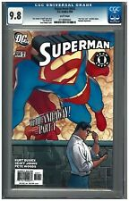 SUPERMAN #650 CGC 9.8 (5/06) DC Comics white pages