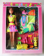 Rare Vintage Betty Teen Bendable Doll Camping Fun M&C Sindy Petra Ko New Nos !