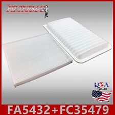 FA5432 FC35479 46673 24883 ENGINE & CABIN AIR FILTER: 02-03 ES300 & 07-09 RX350