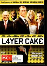 LAYER CAKE - DVD R4 (2005) Daniel Craig - VG - FREE POST