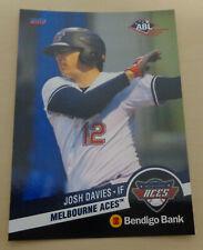 RARE 2017/18 ABL Bendigo Bank JOSH DAVIES - Melbourne Aces - Australian Baseball