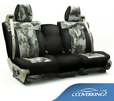 NEW Traditional Jungle Camo Camouflage Seat Covers with Black Sides / 5102021-12