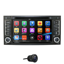 For Volkswagen Touareg 2004-11 GPS Car Bluetooth DVD Radio Stereo HD Cam Navi